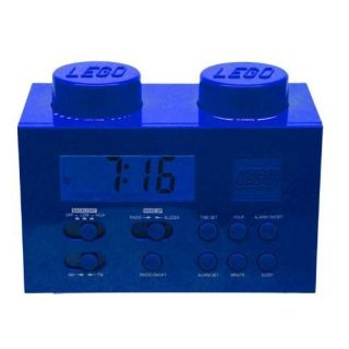 Lego Alarm Clock Radio Blue