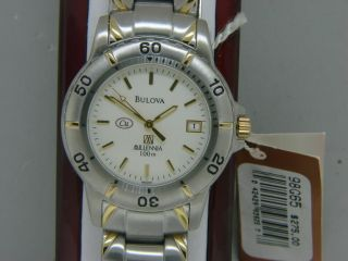 Mens  Bulova  Copper Millenia Wrist Watch New for Arthritis