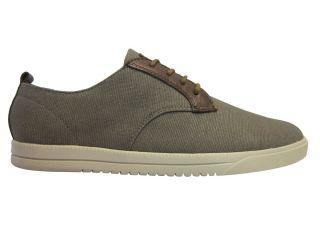 Clae Mens Ellington CLAO1246 Silt Canvas Lace Up Fashion Sneakers