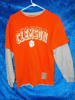 Clemson Tigers NCAA Long Sleeve Shirt Size Size Medium