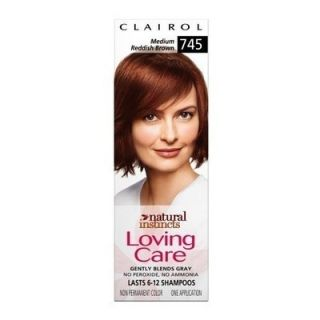 Clairol Loving Care Non Permanent Color No Ammonia 745 Medium Reddish