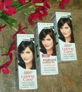 Clairol Loving Care Haircolor Natural Black 83