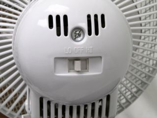 New Holmes HACP10W Clip on Fan Oscillating Tilt White