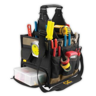 CLC 1528 23 Pocket Large Electrician Tool Box Bag Carrier