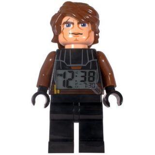 Lego Star Wars Clone Wars Anakin Skywalker Minifigure Alarm Clock