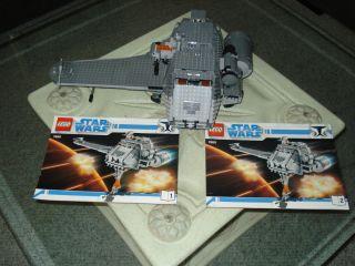 Lego star wars Clone Wars 7680 the Twilight With 9 Star Wars Mini