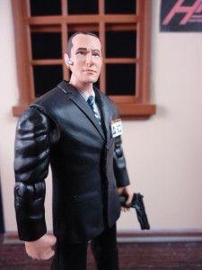 Agent Coulson Shield Marvel Universe Action Figure Clark Gregg