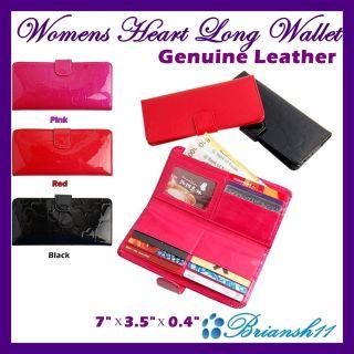 Womens Long Wallets Card Case Wallet Clutch Wallet Easy Clouser