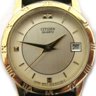 Bra Clip or Vintage Citizen Womens Ladies Gold Wristwatch Watch