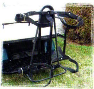 Rear Bag Attachment EZ Go Yamaha Club Car Golf Cart