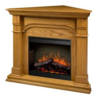 Dimplex Oxford Corner Electric Fireplace in Medium Oak SMP 195C O St