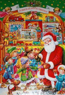 Chocolate Christmas Advent Calendar Santas Workshop