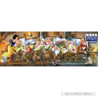 New Clementoni Jigsaw Puzzle 1000 Pcs Disney Snow White and The Seven