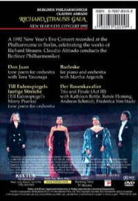 New Years Concert Richard Strauss Gala Christmas DVD