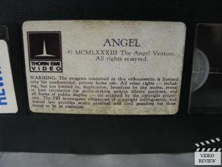 Angel VHS Donna Wilkes Roury Calhoun Cliff Gorman