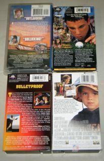 Adam Sandler 4 VHS Movies Waterboy Happy Gilmore Big Daddy Bulletproof