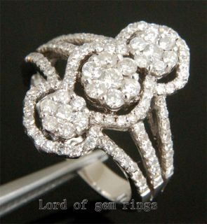 03ct H SI DIAMOND Solid 14K WHITE GOLD ENGAGEMENT WEDDING RING