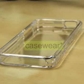 Crystal Clear Hard Case Protective Snap on Cover for Apple iPhone 5