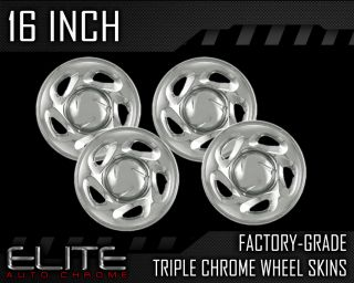 2001 2006 Toyota Sequoia 16 Chrome Wheel Skin Covers