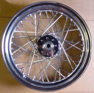 16 Chrome Rear Wheel 4 Early Harley Sportster