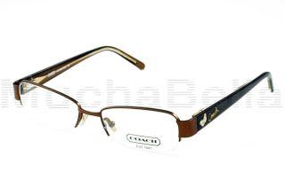 Coach Eyeglass Frames With Butterflies : Brand New COACH Eyeglasses Frames 844 BERNICE BROWN 51 ...