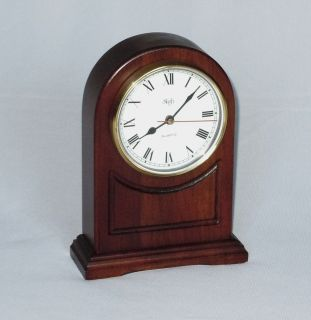 SLIGH Quartz Mantel Clock 1980s WORKS Holland MI USA Mantle Shelf