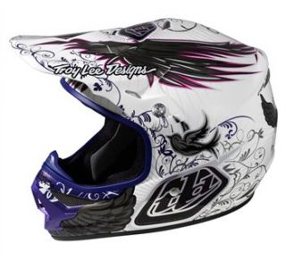 Troy Lee Designs Air   Wing White