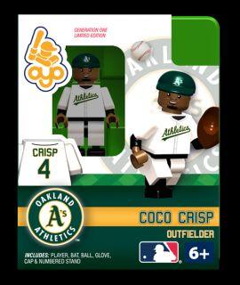 Coco Crisp OYO Mini Fig Figure Lego Compatible Oakland Athletics NIP