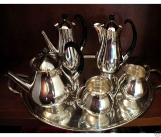 Silver Plate Tea Coffee Service by  Eric Clements