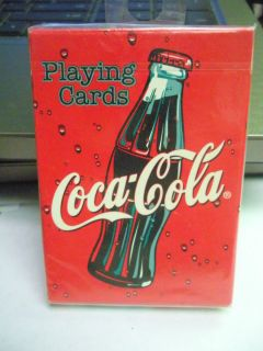 Coca Cola Playing Cards Bicycle US Playing Cards   NIP