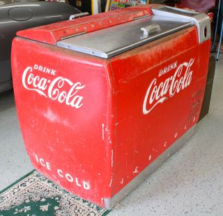 coca cola cooler you are viewing a vintage 1950s coca cola cooler