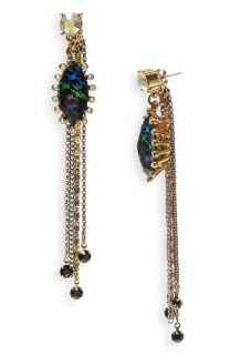 Betsey Johnson Asian Jungle Leopard Earrings