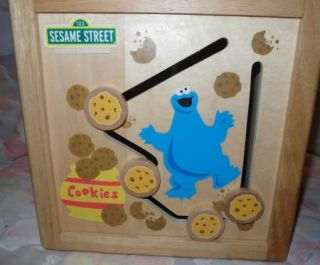 Box Activity Center Maze Cookie Monster Big Bird Oscar Elmo