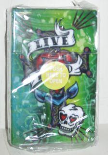 Dragon Tattoo Art Design Plastic Cigarette Case