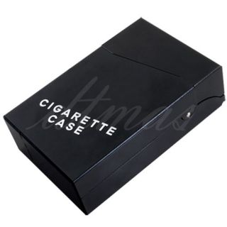 Smoking Cigarette Tobacco Case Holder Box Holds 20pcs