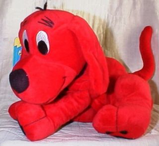 Zoobies Clifford Big Red Dog 13 Plush PJ Keeper Pillow