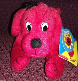 Clifford The Big Red Dog 35th Birthday 5 Side Kicks Beanbag Plush Toy
