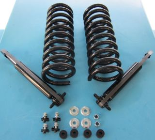 67 68 69 70 Chevelle Coils Shocks Drop Lowered Kit