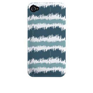 Cinda B iPhone 4 Barely There Cases Shibori Blue