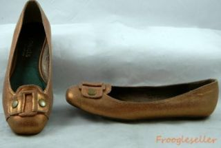 Coconuts by Matisse Womens Mazzo Low Heel Loafers Shoes 7 5 M Coppery
