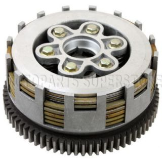 Plates Clutch Assembly for CG 250 ATVs Quad Dirt Bike 250cc Engine