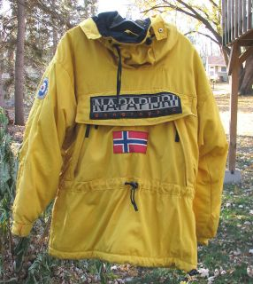 NAPAPIJRI Geographic Jacket Trans Antarctica Expedition Winter Ski Men
