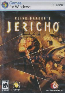 Clive Barkers Jericho Shooter XP Vista PC Game New Box 767649401697