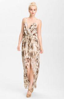 Rory Beca Jones Print Chiffon Maxi Dress