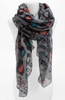 Lulu Multicolor Leopard Print Scarf