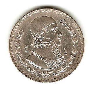 1965 Mexico Silver Coin 1 Peso KM 459
