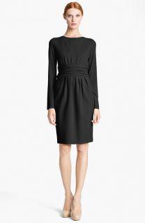 Max Mara Angolo Ruched Waist Jersey Dress