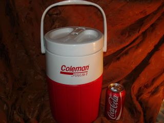 Coleman PolyLite Gallon Water Jug cooler with drinking Spout