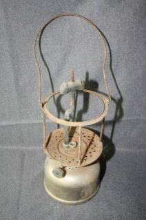 Vintage Coleman Lantern Silver Quick Lite for Parts F361