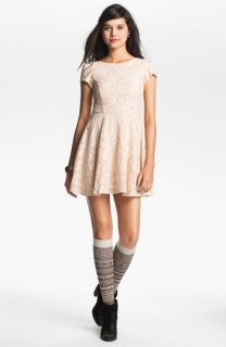 Fire Lace Skater Dress (Juniors)
